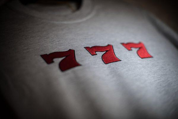 777 grey tshirt